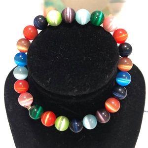 Gas's bead stretch bracelet
